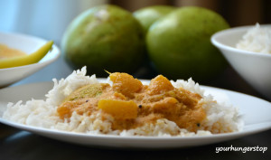 Goan Raw Mango Curry (Amlechi Uddamethi )