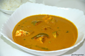 Mackerel curry