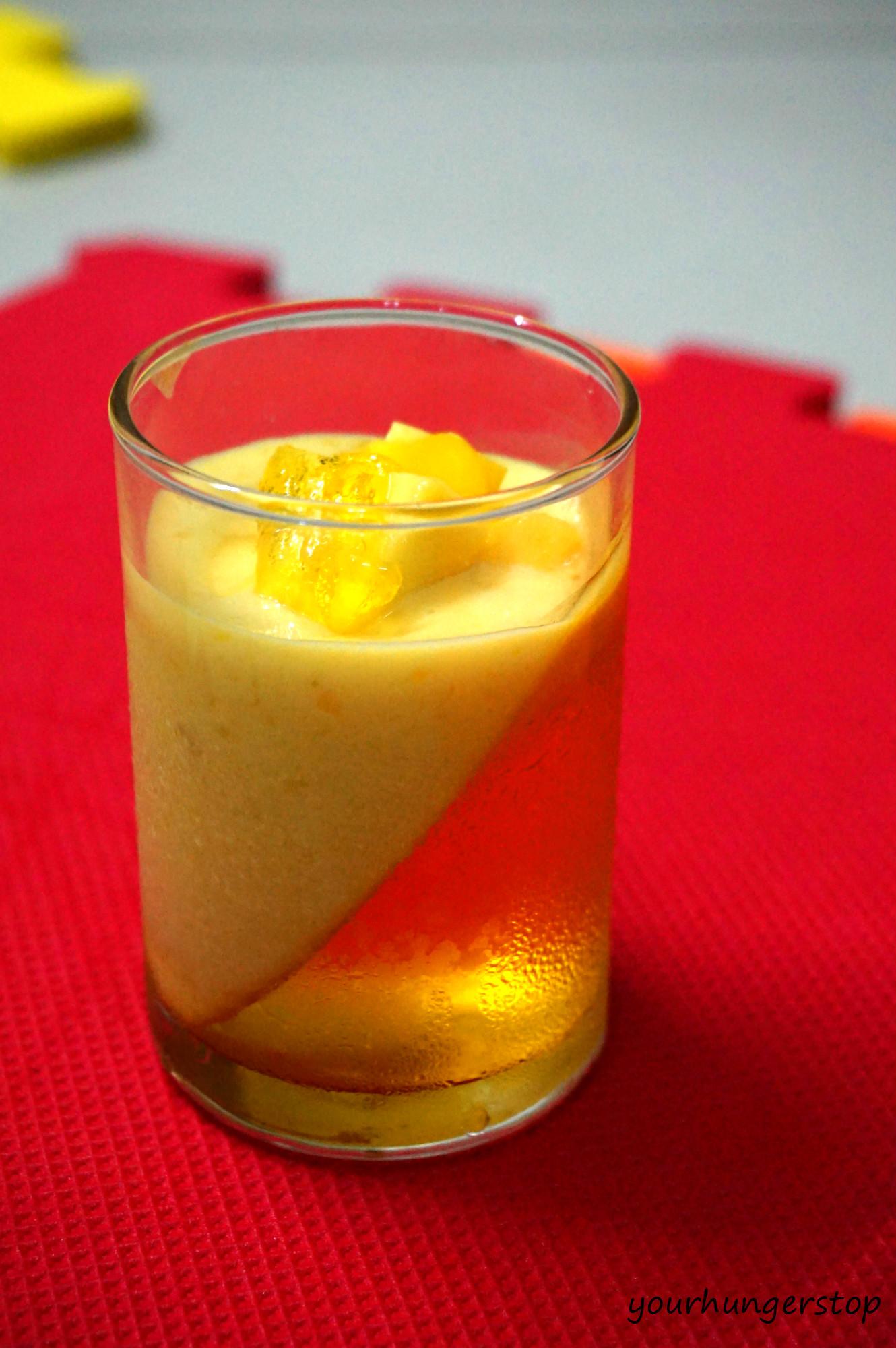 Mango Parfait (layered dessert) | YourHungerStop