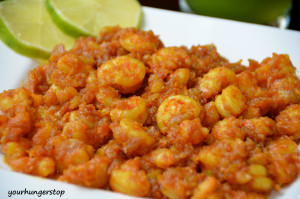 Butter Garlic Masala Prawns