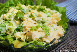 Egg Salad (With Mayonnaise)