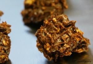 Crispy Chocolate Bites or Chocolate Pakoras
