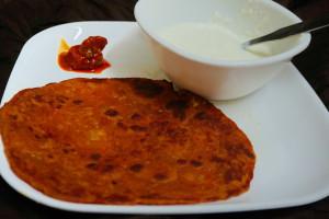 Tomato Paratha