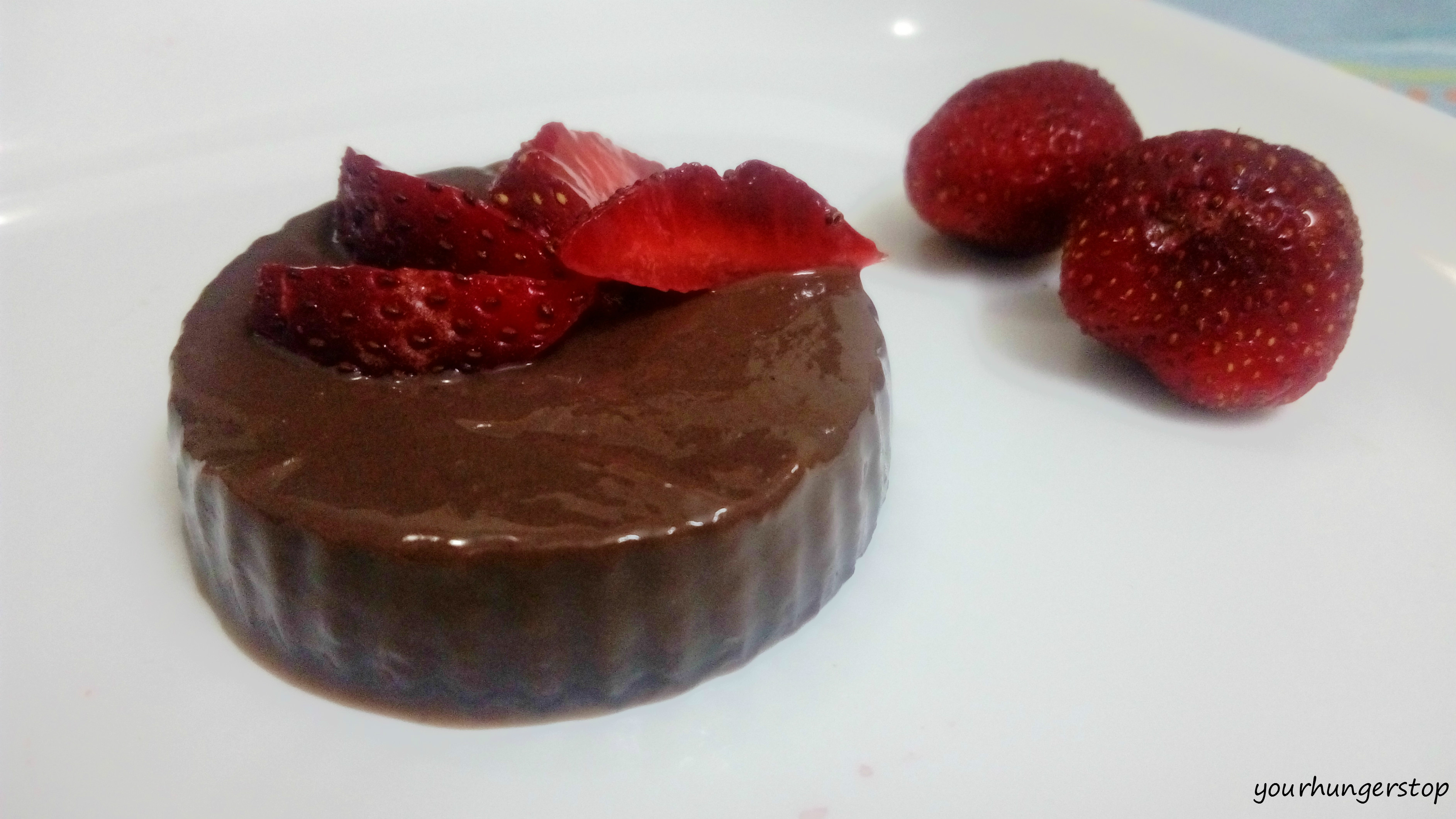 ... blancmange recipe here uses chocolate but you can have vanilla or