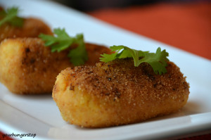 Paneer Cheese Croquettes