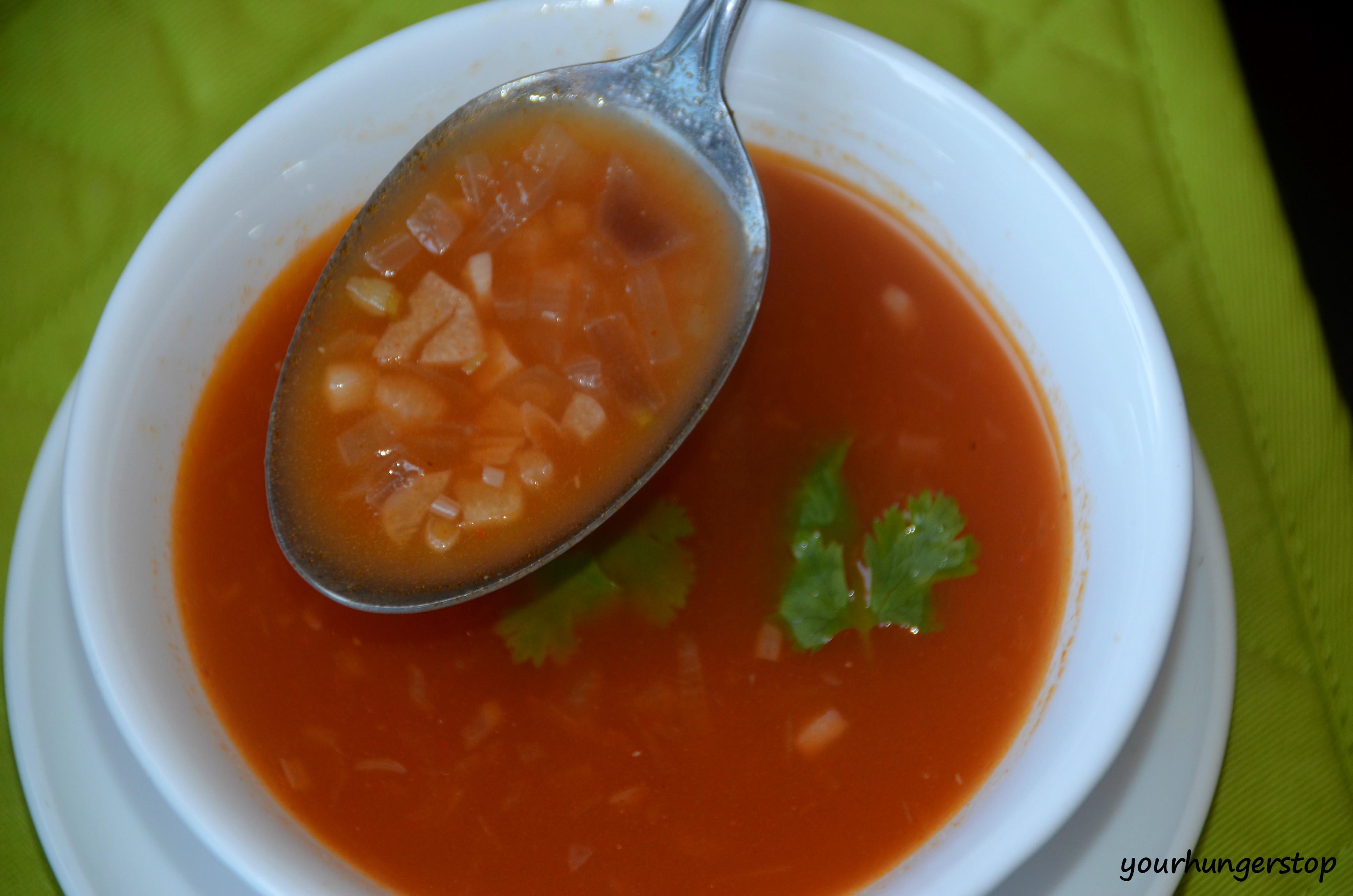 tomato soup recipe yourhungerstop. Black Bedroom Furniture Sets. Home Design Ideas