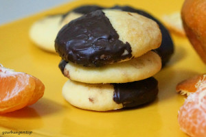 Orange Cookies (eggless)