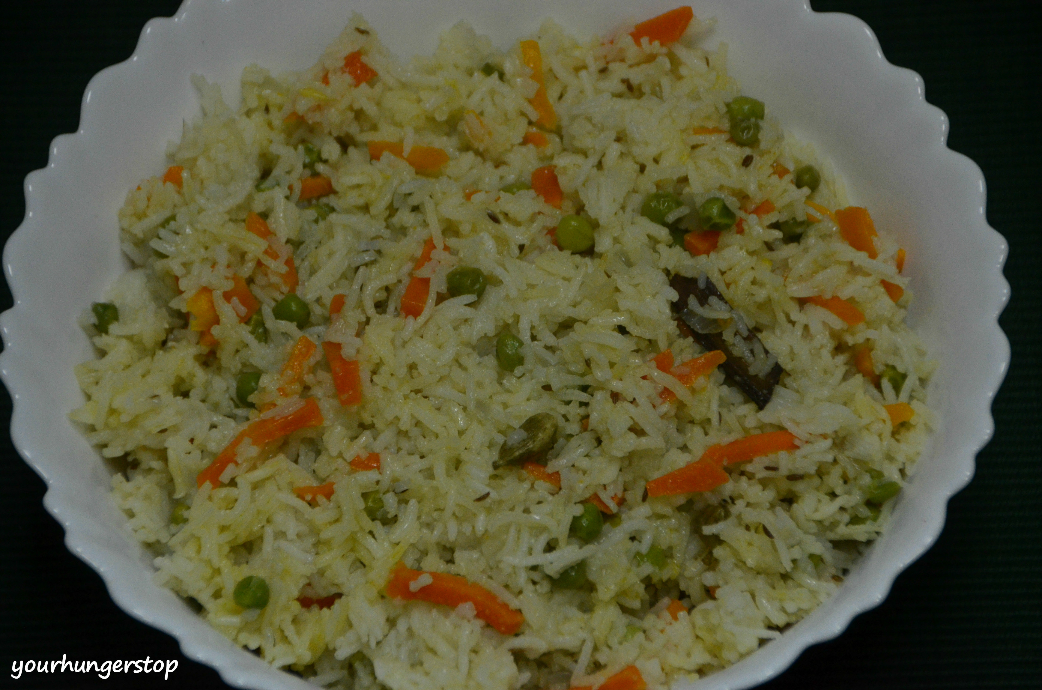 Vegetable pulao yourhungerstop vegetable pulao is a rice dish prepared by cooking rice with various vegetables and spices it is a very simple recipe and gets ready in a jiffy forumfinder Images