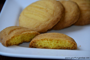 Custard Cookies (Eggless)