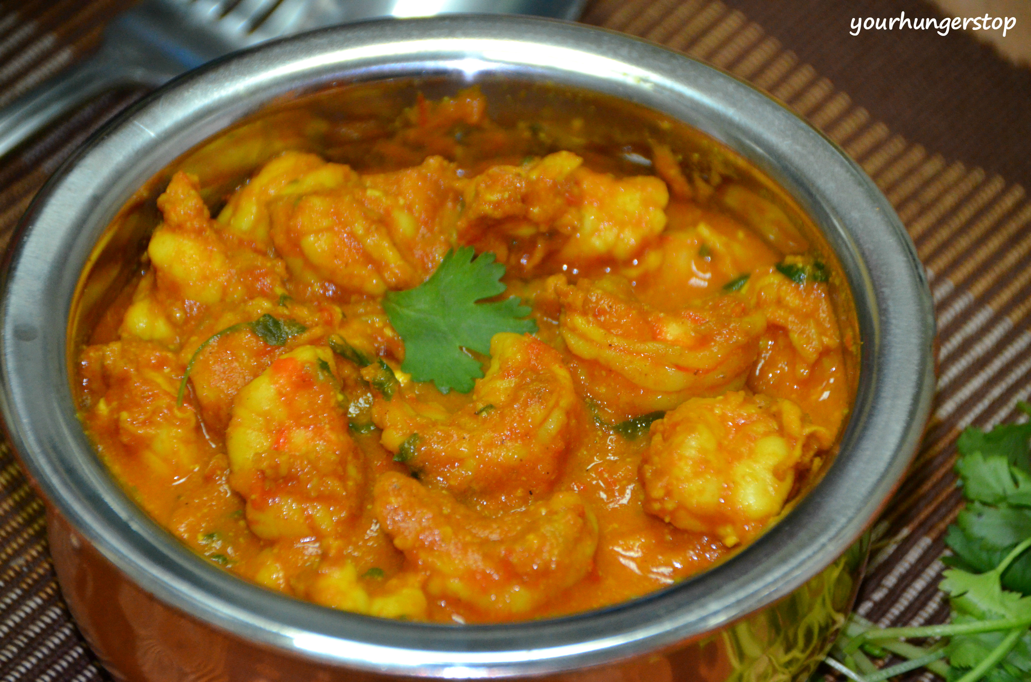 Salt Box Home Prawns Curry Without Coconut Yourhungerstop