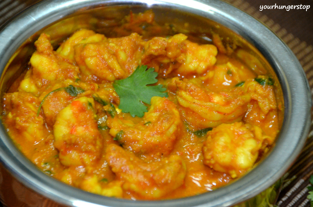 Prawns Curry (Without Coconut)1