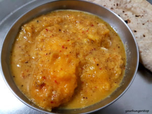 Ghontan Sasav (Goan Mango Sasav)