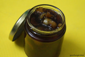 Gooseberry Pickle (sweet and sour)