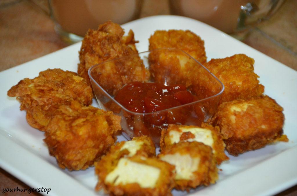 Crunchy Paneer Pakoras