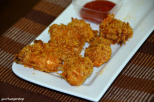 Cornflake Crusted Chicken (Baked)