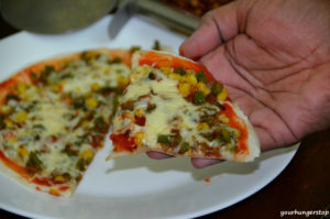 Pizza Dosa or Dosa Pizza